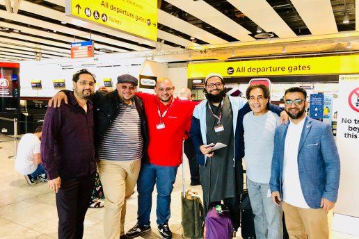 PRESS RELEASE: UK Charity deployed to serve British Pilgrims